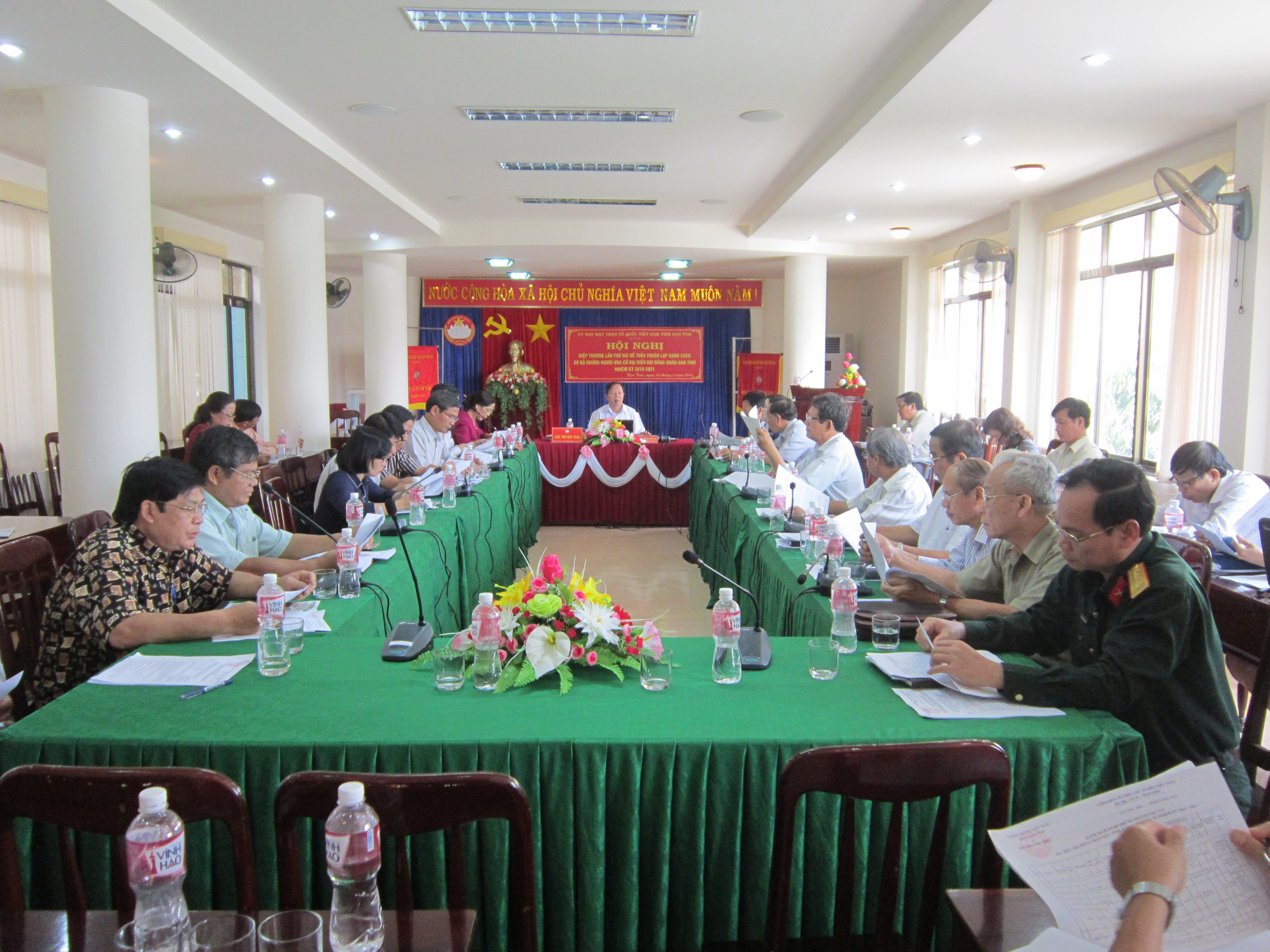 Hội nghị Hiệp thương lần thứ hai bầu cử HĐND tỉnh nhiệm kỳ 2016-2021