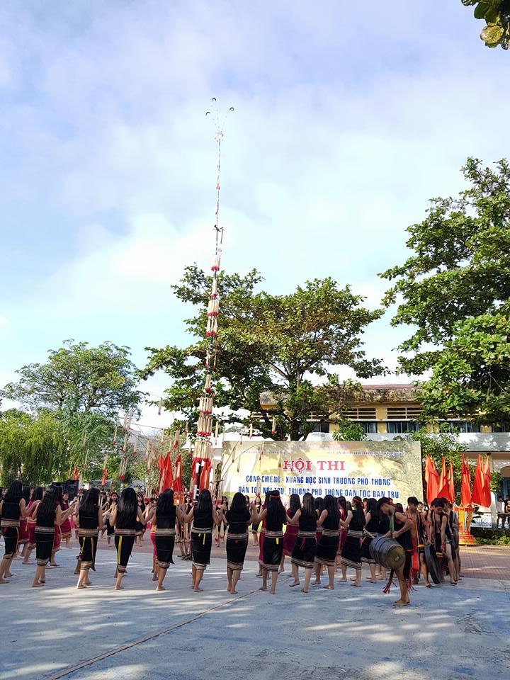 Hội thi cồng chiêng-xoang các trường PTDTBT, PTDTNT 2017
