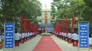 Khai giảng năm học mới tại Trường PTTH Kon Tum