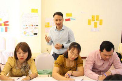 Tập huấn môi trừơng giàu ngôn ngữ  – Tỉnh KonTum 2021