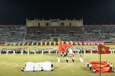 Tưng bừng khai mạc Hội khỏe Phù Đổng tỉnh Kon Tum lần thứ VII năm 2016