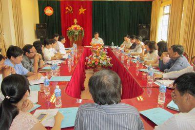 Hội nghị hiệp thương Nhân sự Hội thẩm Tòa án Nhân dân tỉnh Kon Tum (nhiệm kỳ 2016 – 2021)
