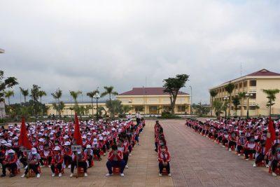 Đồng chí Phó Bí thư Tỉnh ủy, Phó Chủ tịch Thường trực UBND tỉnh dự Lễ Khai giảng năm học mới tại Trường THCS và THPT Liên Việt