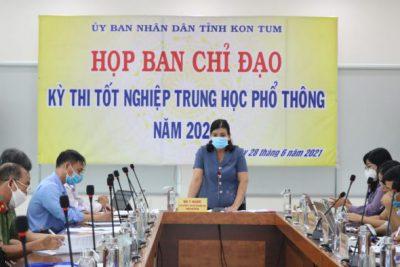 Phó Chủ tịch UBND tỉnh Y Ngọc chủ trì cuộc họp Ban Chỉ đạo Kỳ thi tốt nghiệp THPT năm 2021