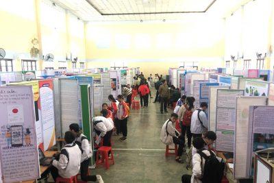 Cuộc thi khoa học kỹ thuật cấp tỉnh cho học sinh trung học năm học 2020-2021
