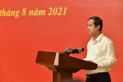 Bộ trưởng Nguyễn Kim Sơn: Hạn chế tác động tiêu cực của dịch bệnh đến giáo dục