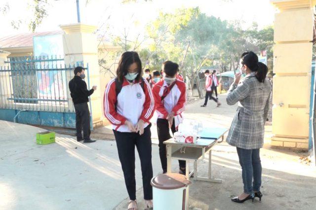 Kon Tum 98,1 % học sinh đi học trong ngày thứ 2 đến trường