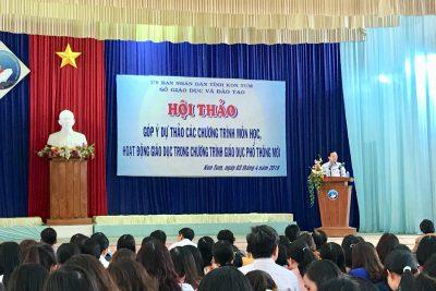 Hội thảo góp ý Dự thảo các chương trình môn học, hoạt động giáo dục trong chương trình giáo dục phổ thông mới