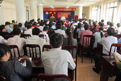 Hội nghị hướng dẫn tổ chức tiếp xúc cử tri để người ứng cử ĐBQH khóa XIV và đại biểu HĐND tỉnh Kon Tum nhiệm kỳ 2016 – 2021 vận động bầu cử