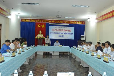 Ban Chỉ đạo kỳ thi THPT quốc gia năm 2017 họp triển khai kế hoạch hoạt động