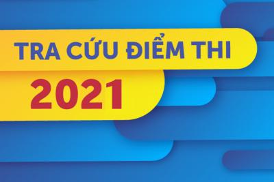 TRA CỨU ĐIỂM THI TN THPT NĂM 2021