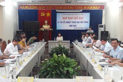 Ban Chỉ đạo Kỳ thi tốt nghiệp THPT năm 2020 tỉnh Kon Tum họp phiên thứ nhất