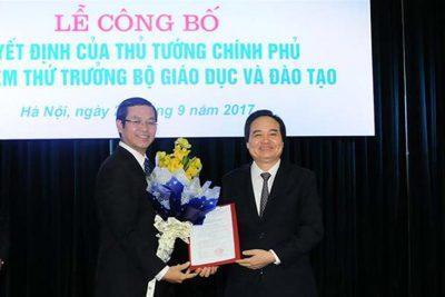 Bộ GD&ĐT công bố quyết định bổ nhiệm hai Thứ trưởng
