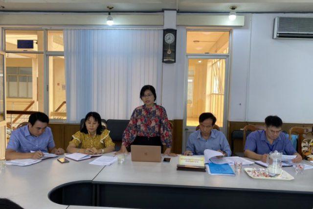 Lãnh đạo Sở Giáo dục và Đào tạo làm việc với Tổ chức kiểm đếm độc lập và Ban quản lý ETEP