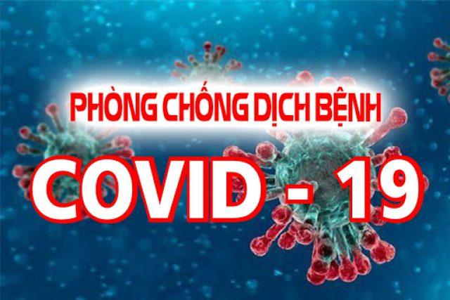 Tăng cường các biện pháp phòng, chống dịch bệnh COVID-19