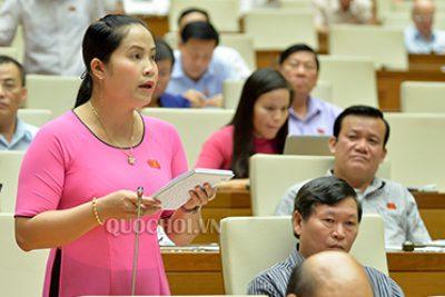 Quốc hội thảo luận ở hội trường về dự án Luật sửa đổi, bổ sung một số điều của Luật Giáo dục
