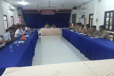 Chuyến thăm và làm việc với Sở Giáo dục và thể thao bốn tỉnh Nam Lào của Đoàn công tác Sở Giáo dục và Đào tạo tỉnh Kon Tum