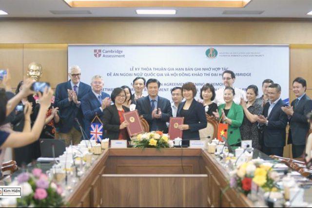 Tăng cường hợp tác đào tạo tiếng Anh tại Việt Nam
