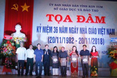 Tọa đàm kỷ niệm 36 năm Ngày Nhà giáo Việt Nam (20/11/1982 – 20/11/2018).